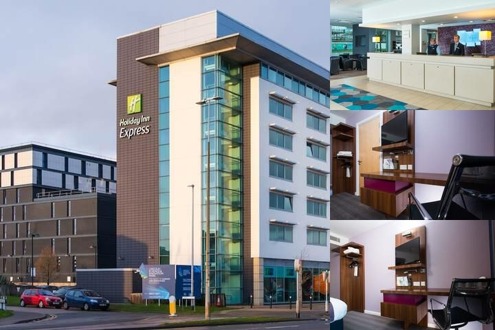 Holiday Inn Express Lincoln City Centre photo collage