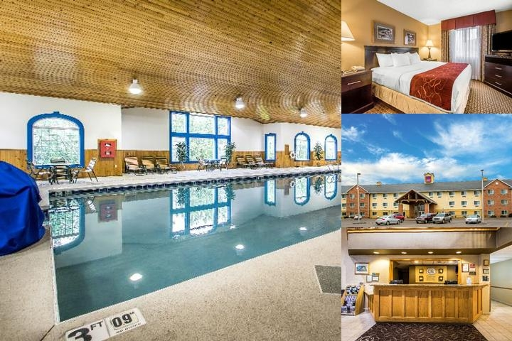 Comfort Suites Wisconsin Dells Area photo collage