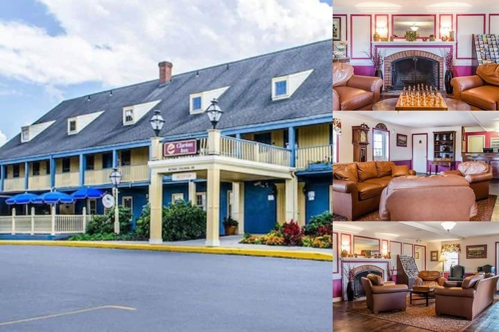 Clarion Inn Historic Strasburg Inn photo collage