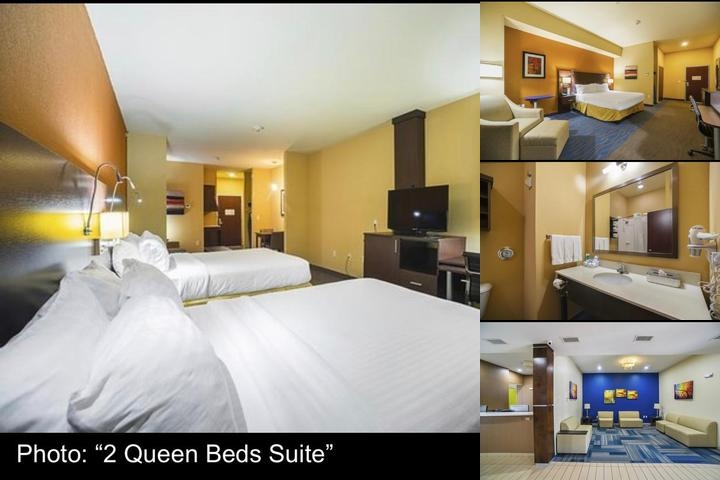 Best Western St. Louis Airport North Hotel & Suites photo collage