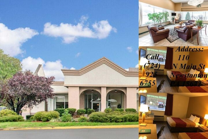 Econo Lodge New Stanton photo collage