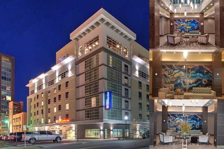 Hilton Garden Inn Little Rock Downtown photo collage