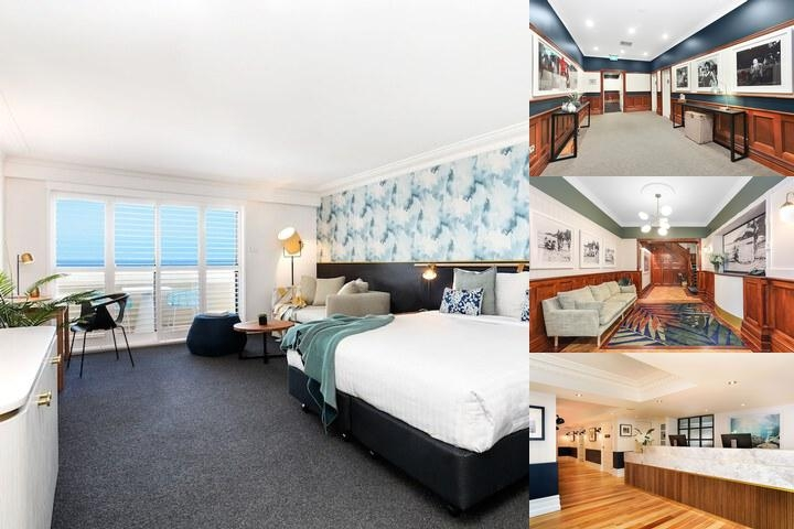 Coogee Bay Hotel Boutique photo collage