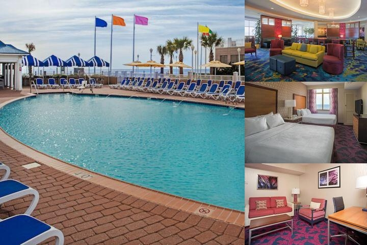 Springhill Suites Virginia Beach Oceanfront photo collage