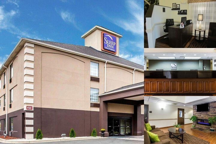Sleep Inn & Suites Albemarle photo collage