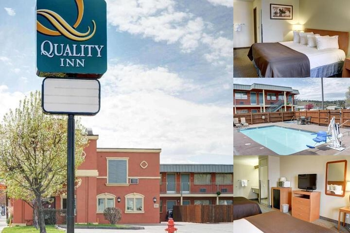 Quality Inn Madras photo collage