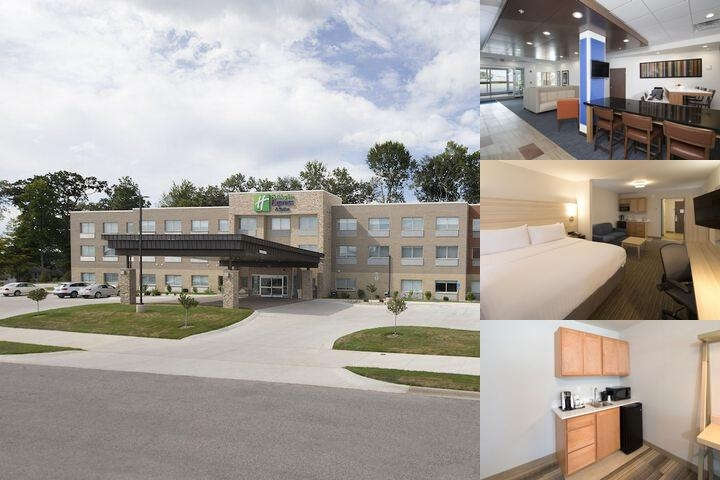 Holiday Inn Express & Suites Laporte photo collage