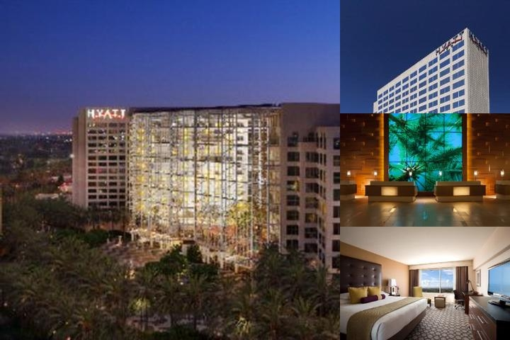 Hyatt Regency Orange County photo collage