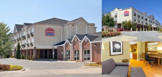 Ramada Limited Little Rock photo collage