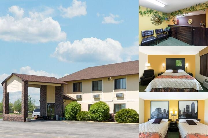 Super 8 by Wyndham Perry Ia photo collage