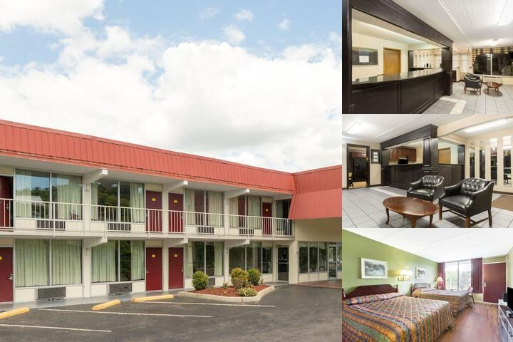 Super 8 by Wyndham Kingsport / i 81 photo collage