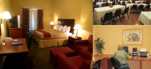 Holiday Inn Express Salado Belton photo collage