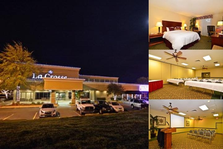 Clarion Hotel Lacrosse photo collage