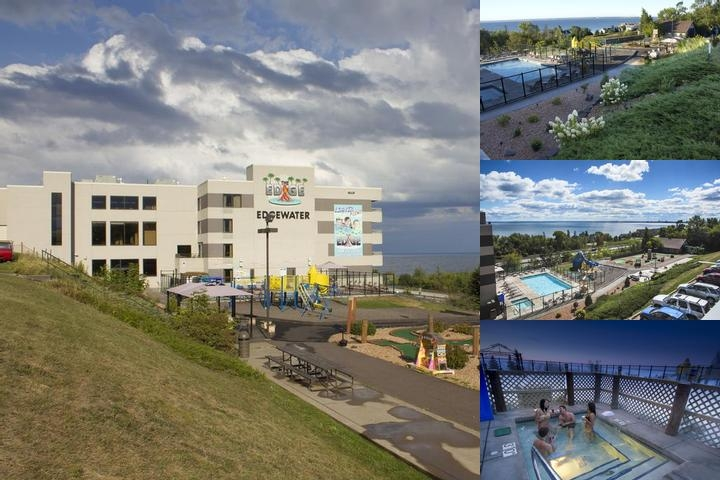 Edgewater Resort & Waterpark Hotel & Conference photo collage