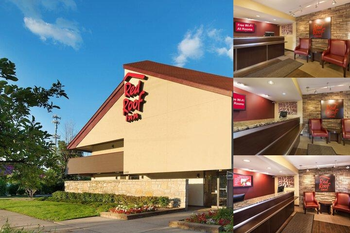 Red Roof Inn Detroit Warren photo collage