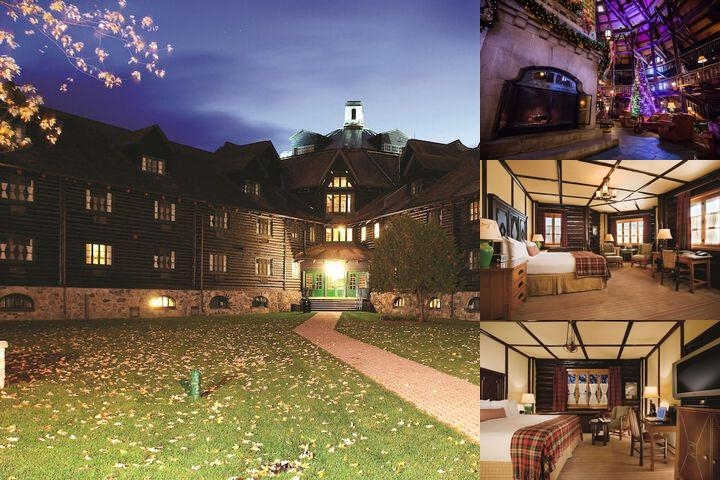 Fairmont Le Chateau Montebello photo collage