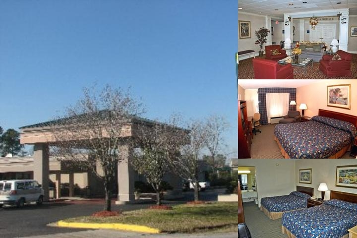 Howard Johnson Charleston Airport photo collage