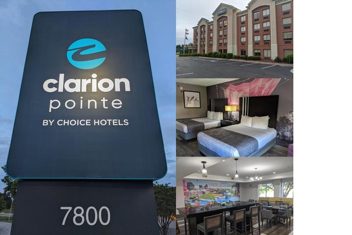 Clarion Pointe Greensboro Airport photo collage