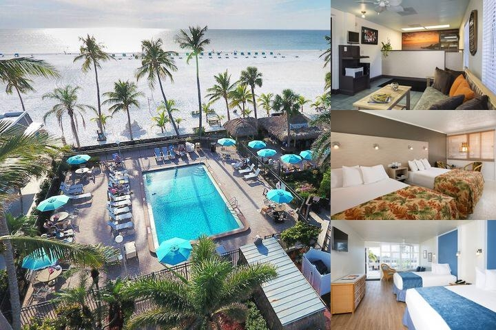 The Outrigger Beach Resort photo collage