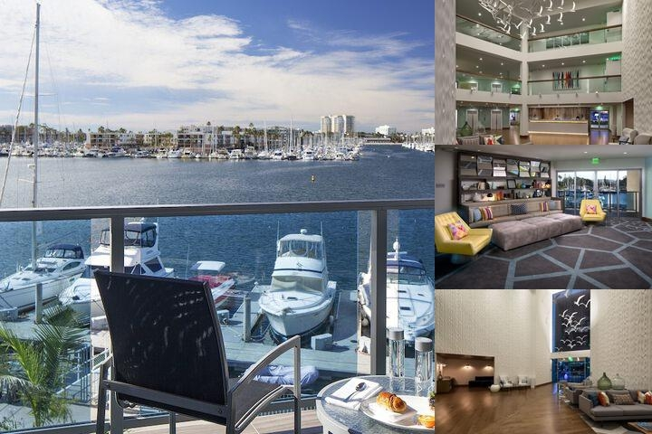 Marina Del Rey Hotel photo collage