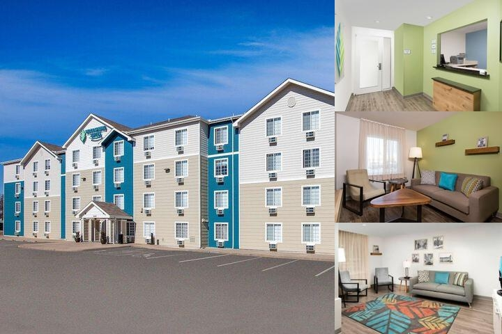 Woodspring Suites Detroit Madison Heights photo collage