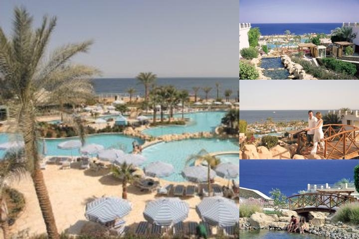 Hilton Sharm Waterfalls Resort photo collage