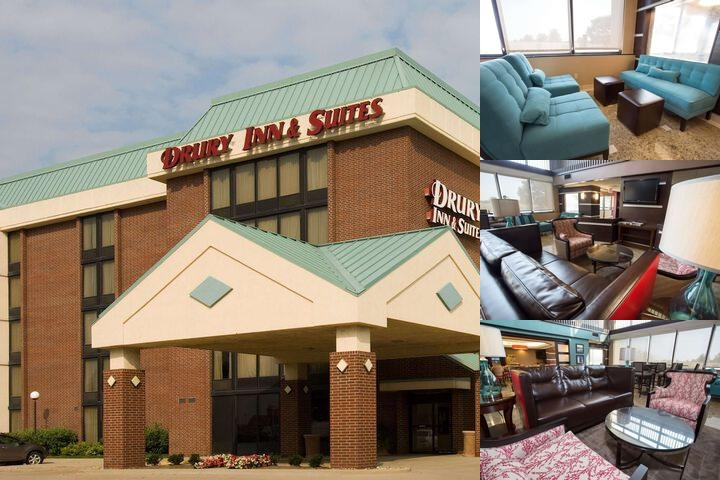 Drury Inn & Suites Champaign photo collage