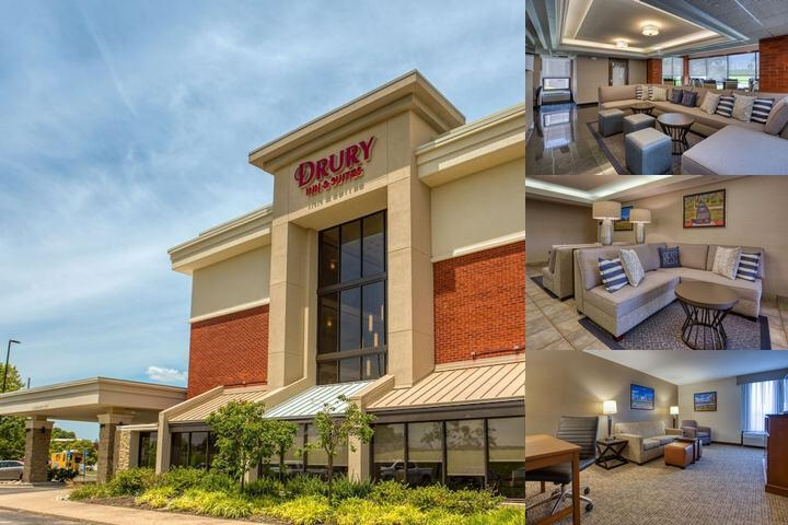Drury Inn & Suites St. Louis Fairview Heights photo collage