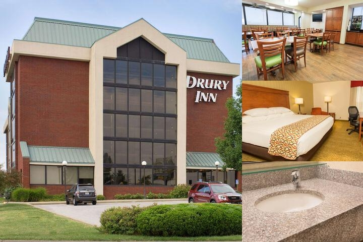 Drury Inn Marion photo collage