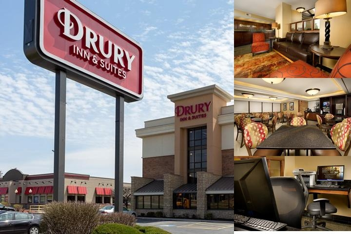 Drury Inn Kansas City Shawnee Mission photo collage