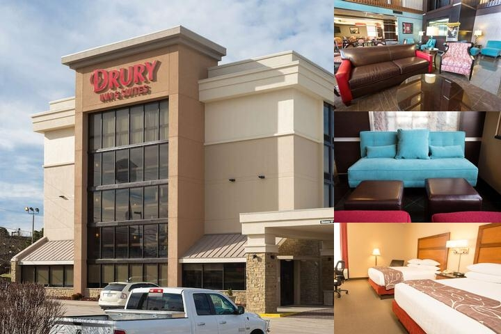Drury Inn & Suites Springfield Missouri photo collage