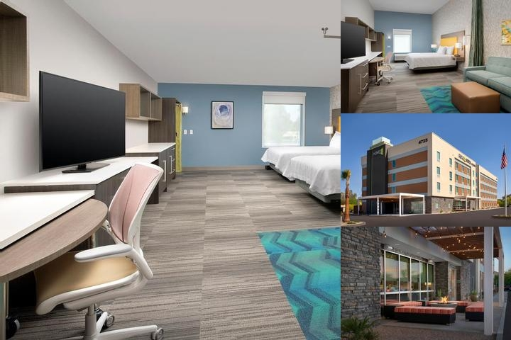 Home2 Suites Phoenix Airport South photo collage