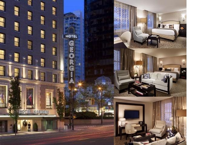 Rosewood Hotel Georgia photo collage