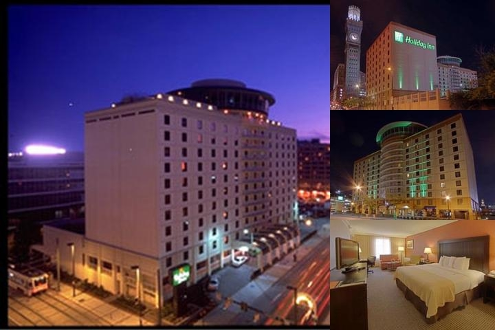 Holiday Inn Inner Harbor photo collage