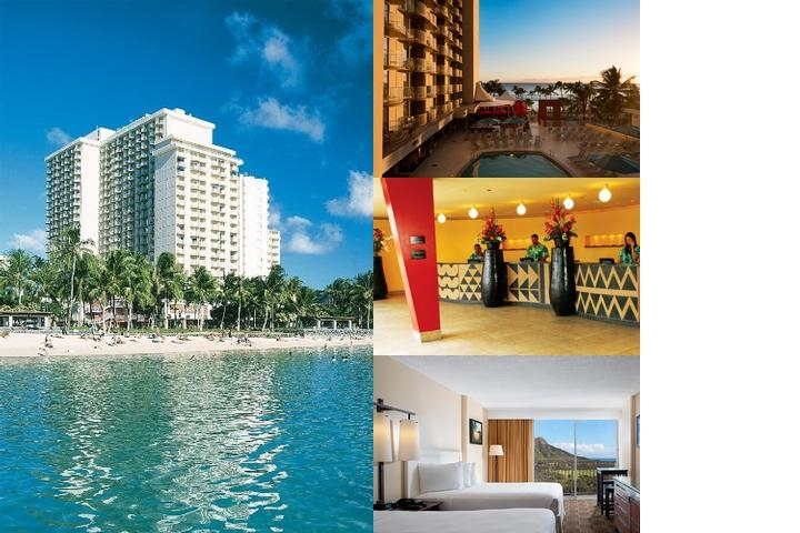 Waikiki Beach Hotel photo collage