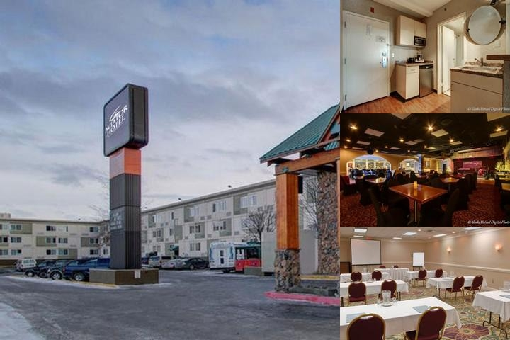 Aviator Hotel Anchorage photo collage