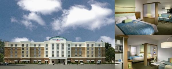 Springhill Suites Hampton Coliseum Central photo collage