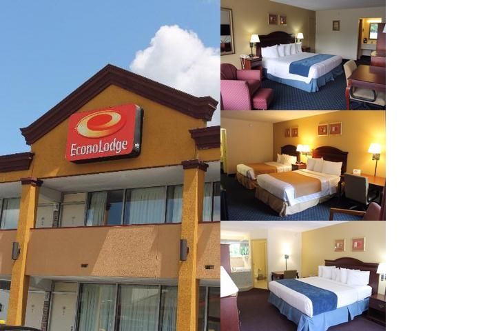 Econo Lodge Coliseum photo collage