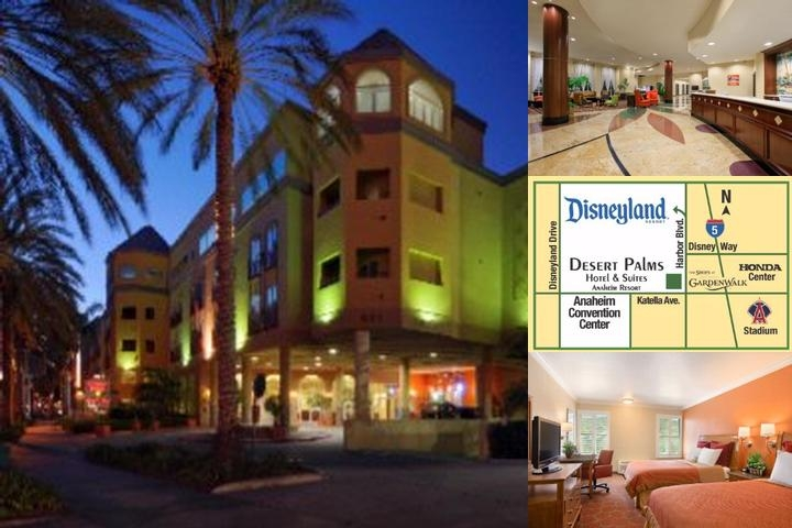 Desert Palms Hotel & Suites photo collage