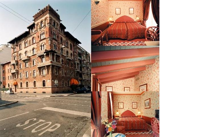 Regency Hotel Milan photo collage