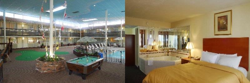 Clarion Inn & Fun Dome College Park Md photo collage