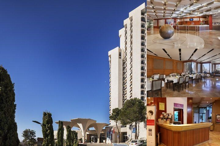 Crowne Plaza Jerusalem photo collage