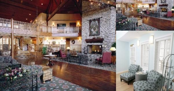 Cherry Valley Lodge photo collage