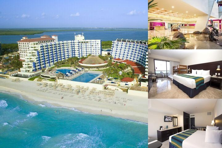 Crown Paradise Club Cancun All Inclusive photo collage