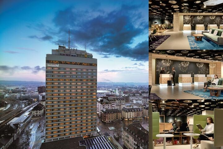 Swissôtel Zürich photo collage