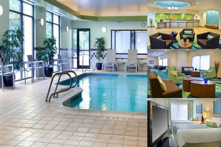 Springhill Suites Boston Andover photo collage