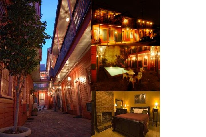The Frenchmen Hotel photo collage