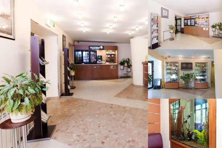Maxima Slavia Hotel photo collage