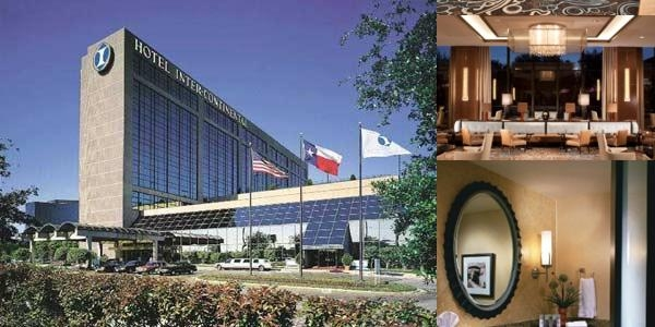 Intercontinental Hotel Dallas photo collage
