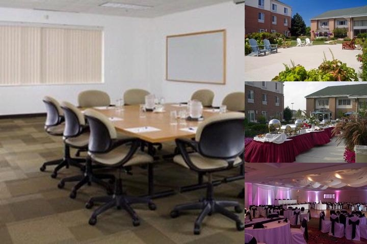 Hilton Garden Inn St. Charles Illinois photo collage
